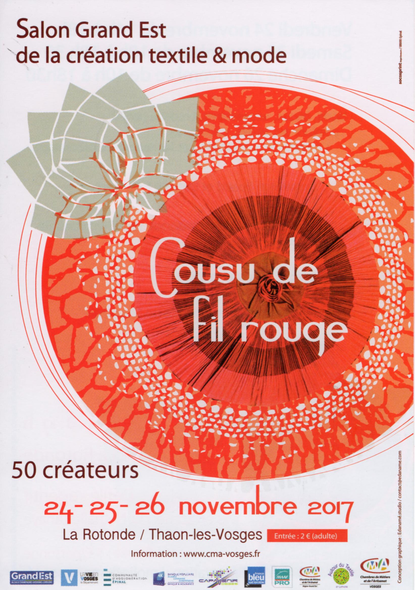Cousu de fil rouge – Salon des métiers d'art